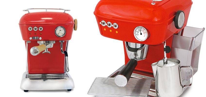 So Pure Eva coffee machine, barista small coffee machine